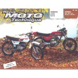 Revue Technique Moto - RTM - N° 32 - Version PAPIER - CB250N / CB400N