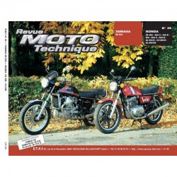 Revue Technique Moto - RTM - N° 39 - Version PAPIER - XS500 - CX400/CX500/CX650 - GL500/GL650