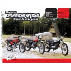 Revue Technique Moto - RTM - N° 022 - Version PAPIER - CB125S3 - CB125N - XL125 - TL125