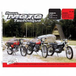 Revue Technique Moto - RTM - N° 022 - Version PAPIER - CB125S3 - CB125N - XL125 - TL125