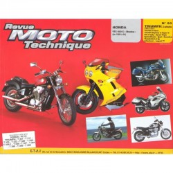 RTM - N° 093-2 - Honda VT600 - Triumph 750/900