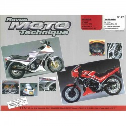 Revue Technique Moto - RTM - N°057 - Version PAPIER - VF400 - VF500