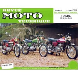 Revue Technique moto - RTM - N° 008 - Version PDF - CB125S - SL125