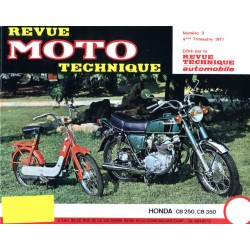 Revue Technique moto - RTM - N° 003 - Version PDF - CB250K-CB350K