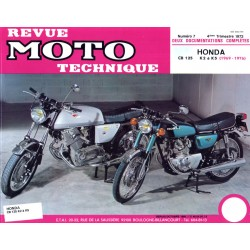 Revue Technique moto - RTM - N° 007 - Version PDF - CB125 K5