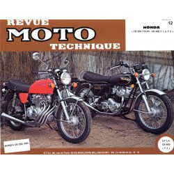 Revue Technique moto - RTM - N° 012 - Version PDF - CB350F / CB400F