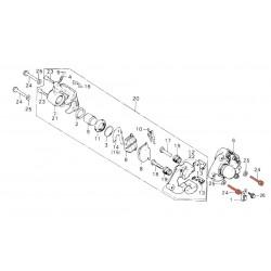 Frein - Support Etrier - vis de fixation M10 x32 mm