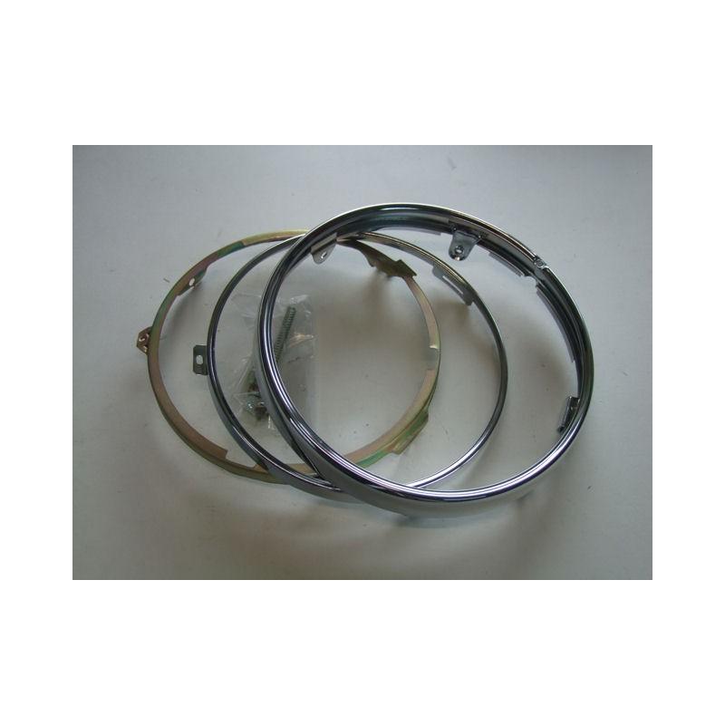 Eclairage - Phare - Cerclage - ø 180mm - chrome