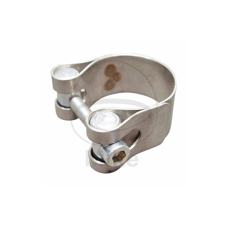 Echappement - Collier INOX - 34-36 mm (x1)