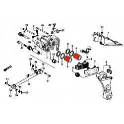 Frein - Etrier - Piston avec joint - (x1) - ø 26.95mm
