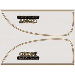 Decoration - CB500 T - Autocollant