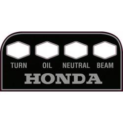 Decoration, autocollant - tableau bord - Honda