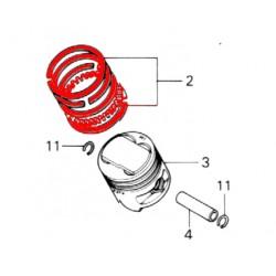 Moteur - Segment -  CB750C/K/F - (+0.50)