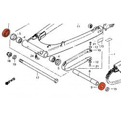 Bras oscillant - cache poussiere - (x1)