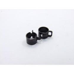 Carbu - Collier Durite - ø 10.00mm (x2) - noir