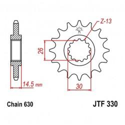Transmission - Pignon JTF 330 - 630/15 dents - 23801-425-670
