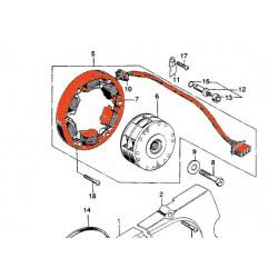 Alternateur - Stator - SL125
