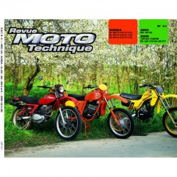 Revue Technique Moto - RTM - N° 41 - Version PAPIER - HONDA XLS 250-400-500 + XLR