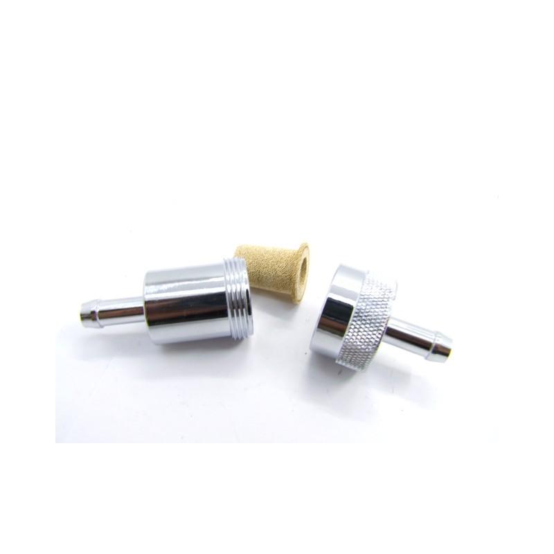 Filtre a essence - metal - ø int. 6mm / ext. 8mm