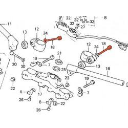 Vis BTR - (x1) - Acier noirci - 90153-MA3-660