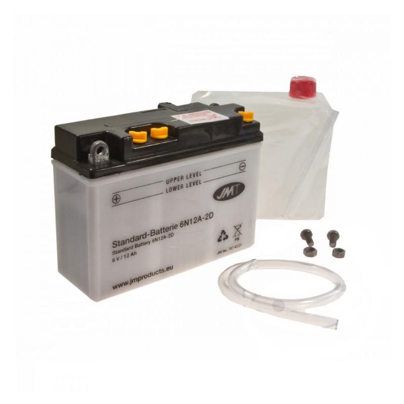 Batterie - 6 Volts - 6N12A-2D