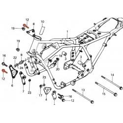 Vis de fixation - support moteur - M8 x60 mm