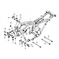 Vis de fixation - support moteur - M10 x60 mm