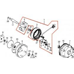 Alternateur - Rotor + Stator - CBX1000