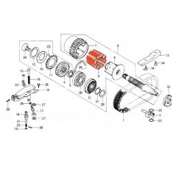 Arbre primaire - amortisseur de couple (x1)