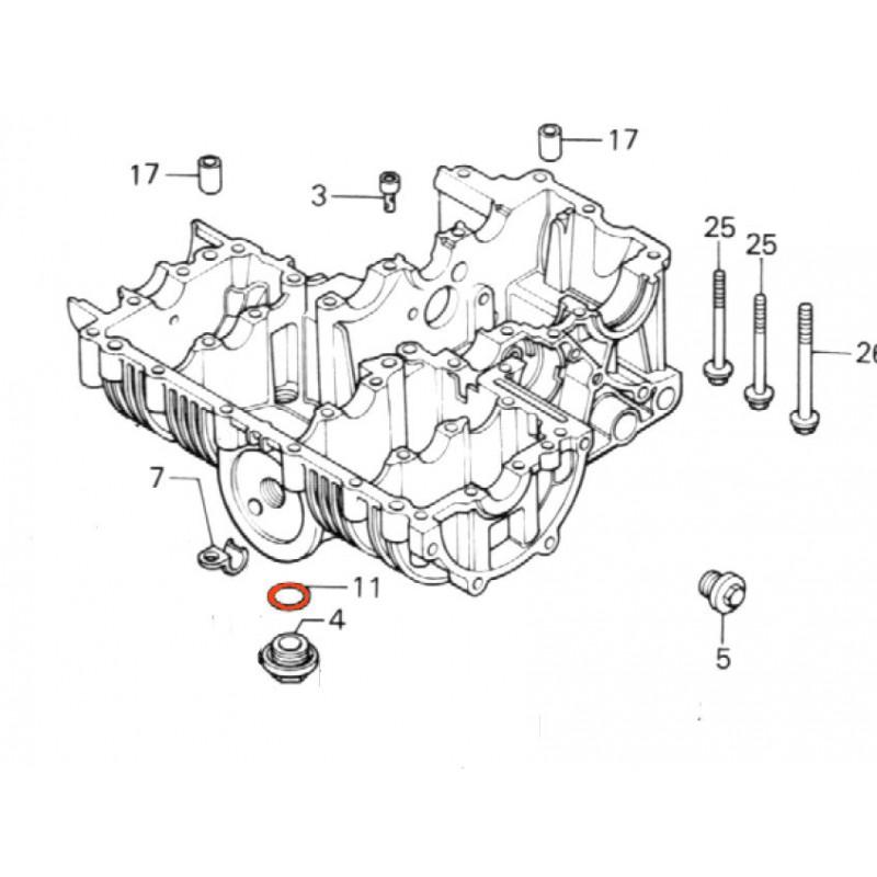 Moteur - bouchon - Joint torique - ø 30.8 x3.00mm (x1) -