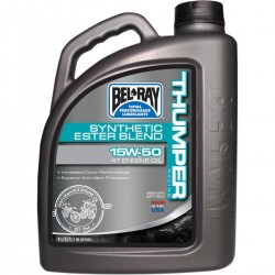 Moteur - Huile - BEL-RAY - Thumper - 15w50 - Synthese - 4 Litres