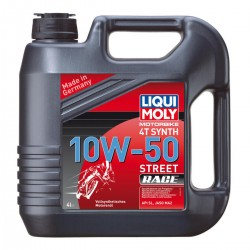 Moteur - Huile - STREET RACE - LIQUI MOLY -  Synthese - 10W50 - 4 Litres