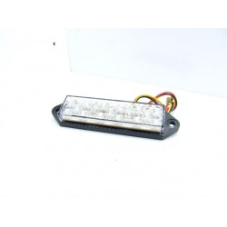 Led - Feux Stop incolore - 25x95mm - Catadioptre a visser ou coller