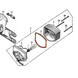 Feux arriere - Joint de cabochon - CB/CM 125/400T