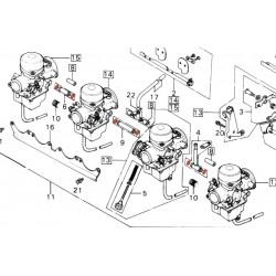 Carburateur - Joint de liaison - joint de siege - ø 7.00 x1.20