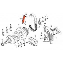 Moteur - Guide de Chaine primaire - GL 1000 - N'est plus disponible