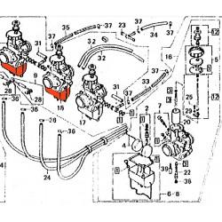 Carburateur - Cuve - Droit - Honda ...