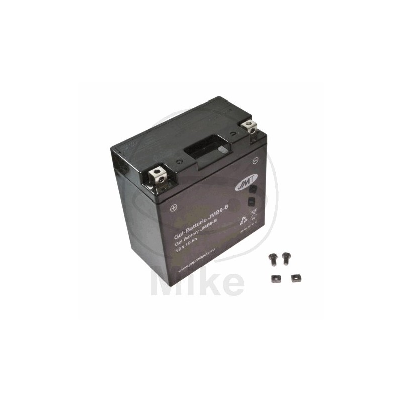 Batterie 12 Volt - YB9-B-BS - GEL - JMT
