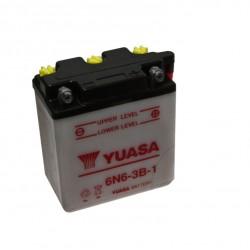 Batterie - Acide - 6V - 6N6-3B-1 - Yuasa -