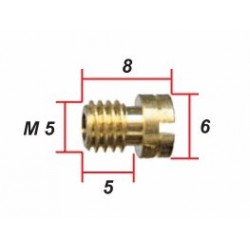 Keihin - ø 1.95 - Gicleur M5 pour Carburateur