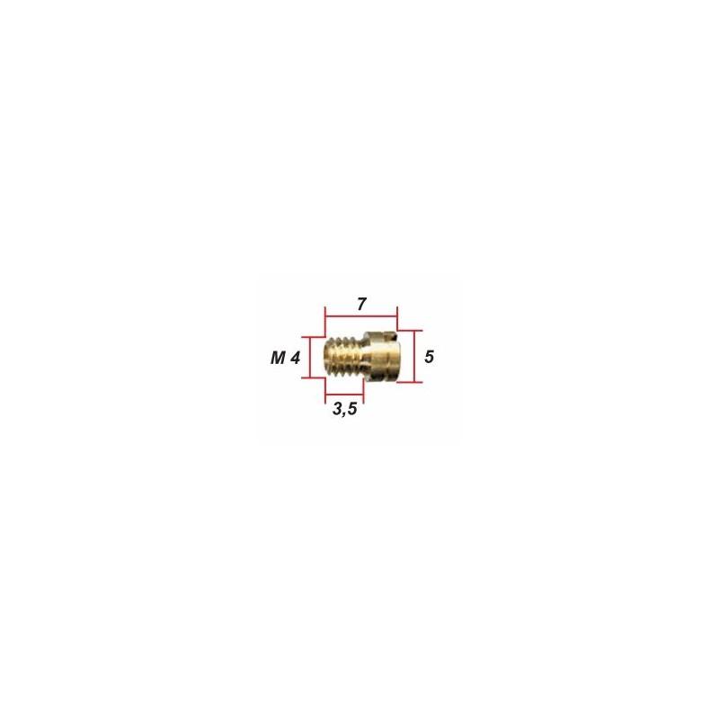 Keihin - ø 0.62 - Gicleur M4 pour Carburateur -