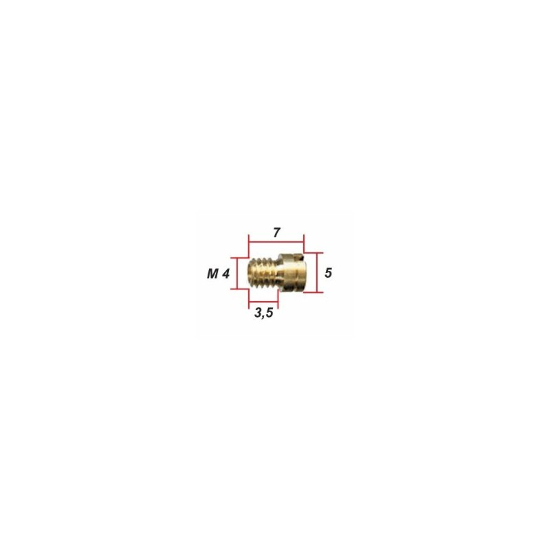 Keihin - ø 0.58 - Gicleur M4 pour Carburateur -