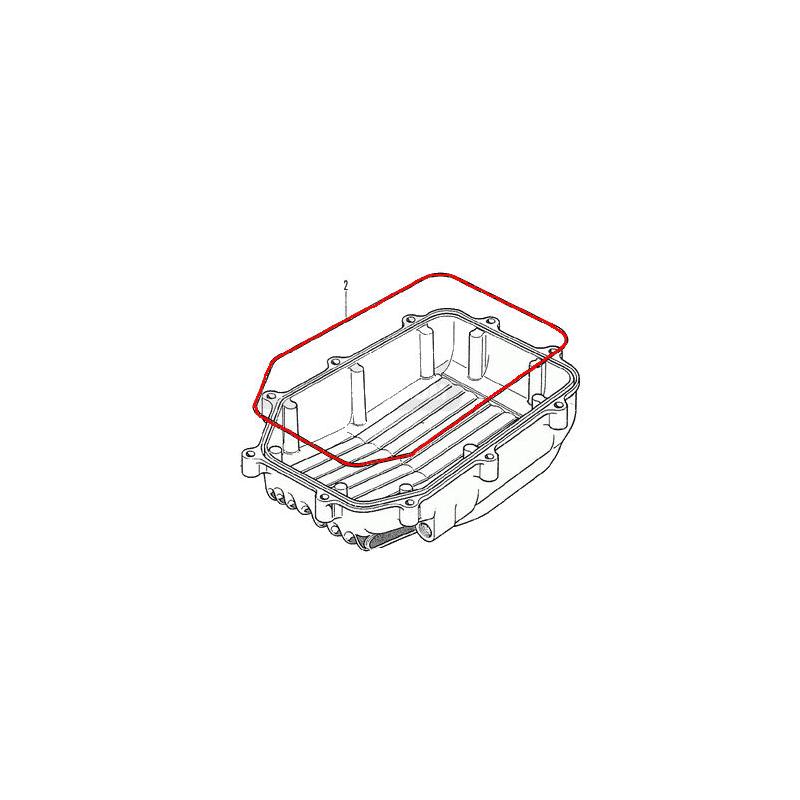Carter d'huile - carter inferieur - Joint - CB500/550/650