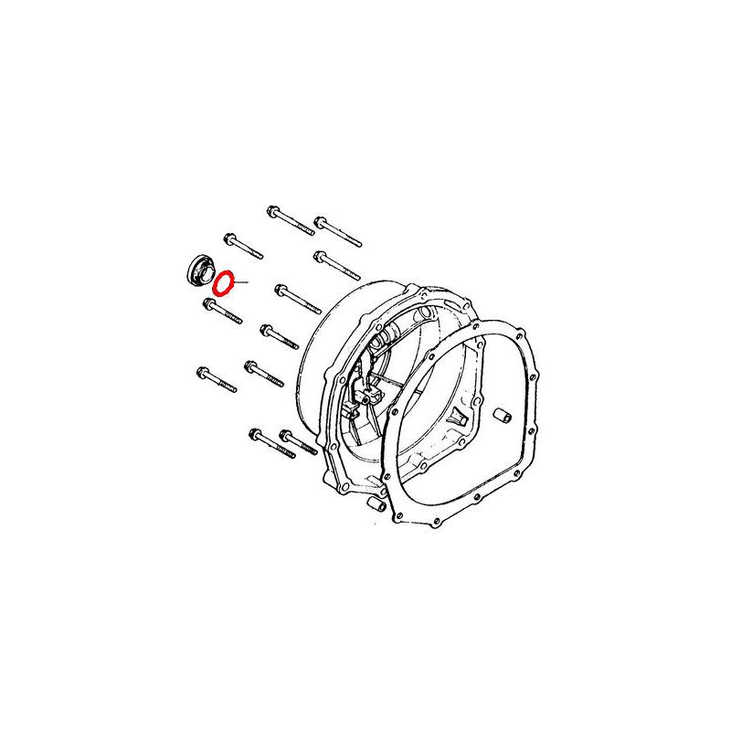 50x NBR 13mmx2.5mm joints toriques trou joints d/étanch/éit/é Rondelles pour automobile