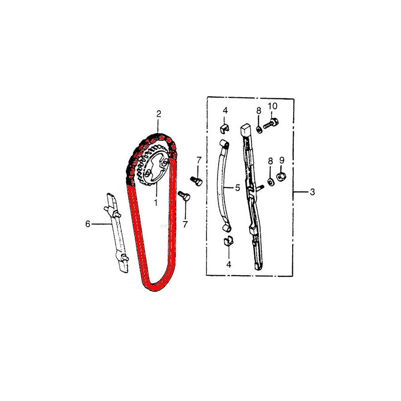 Distribution - Chaine - 82RH2015-112 - Fermée