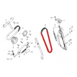 Distribution - Chaine - 82RH2015-126L - Fermee