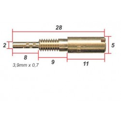Gicleur - jet de gaz - VM28/486 - ø 0.300