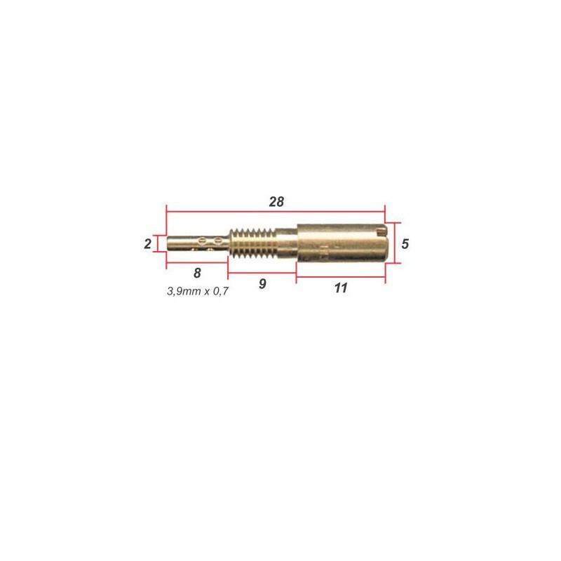 Gicleur - jet de gaz - VM28/486 - ø 0.325