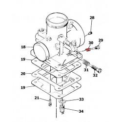 Vis de reglage d'air - Ressort - M12F/46