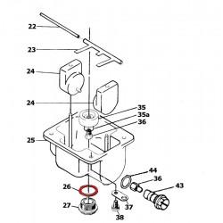 26 - Cuve de decantation - joint torique - VM28/254